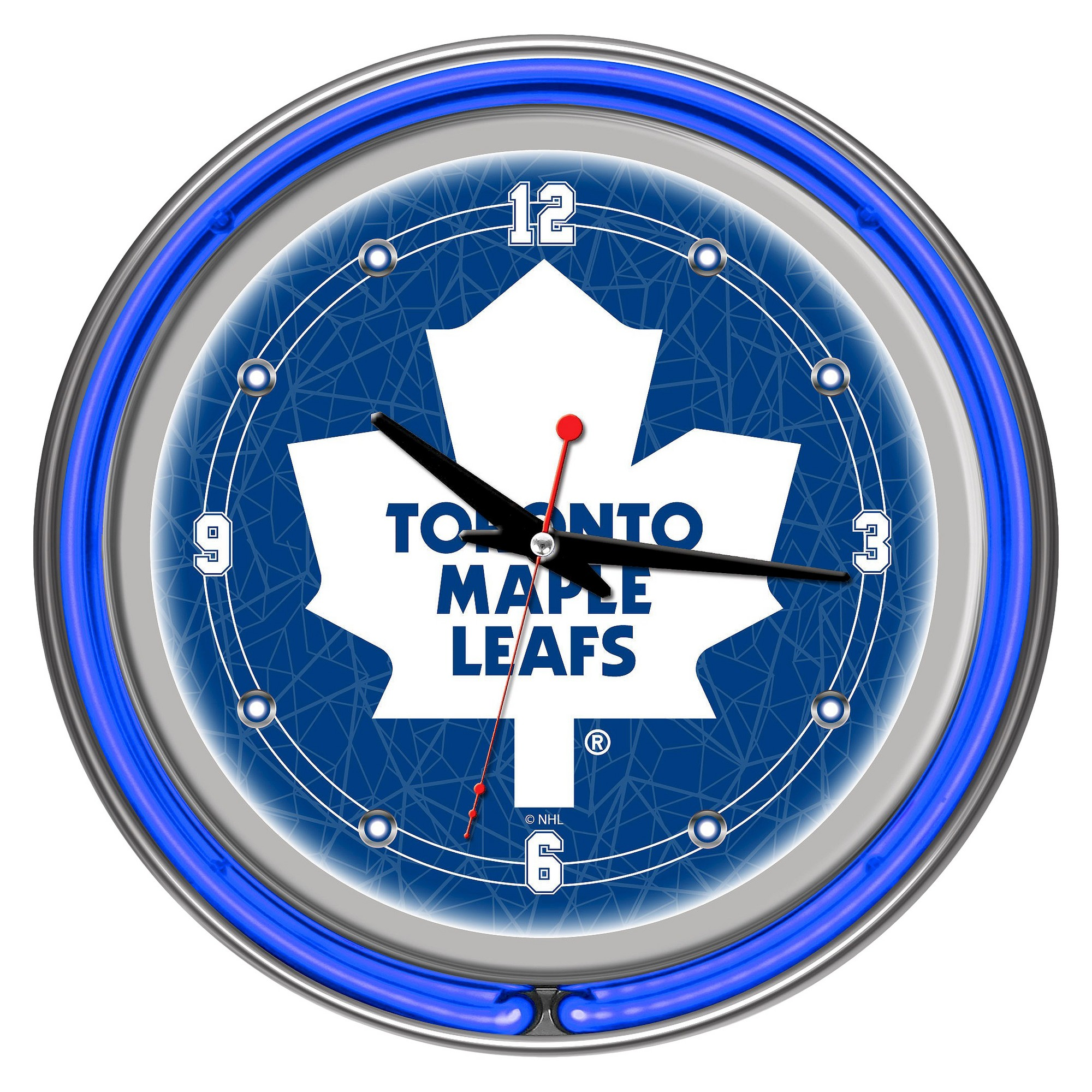 Toronto Maple Leafs Neon Wall Clock Toronto Maple Leafs Toronto