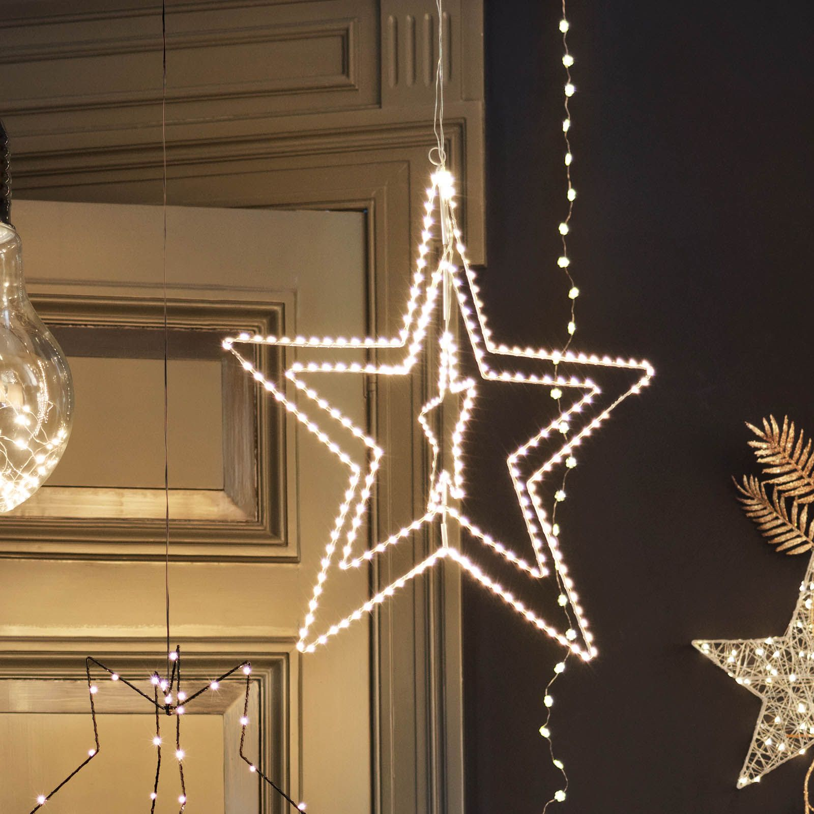 Depot Weihnachtsbeleuchtung.Mit Schönen Lichtobjekten An Weihnachten Und In Der Adventszeit Für