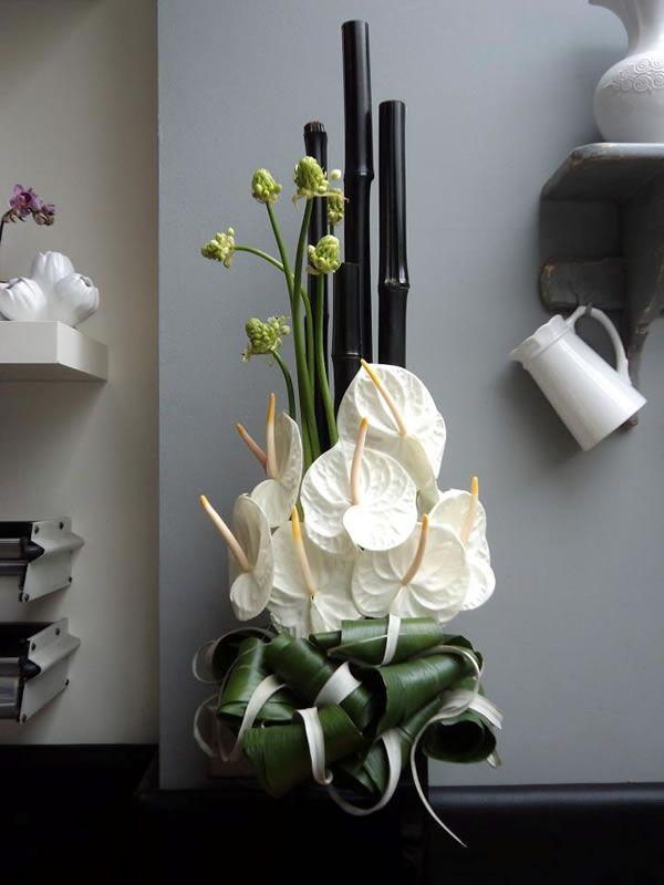 Anthurium Flower Arrangement Ideas