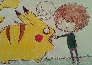 chris drew and monster pikachu by cascadeofstars ...