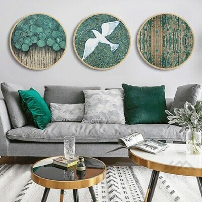 Canvas Prints Painting Round Poster Wall Art Modular Pictures #fashion #home #garden #homedcor #postersprints (ebay link)
