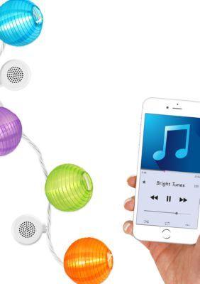 Bluetooth Speaker String Lights Innovative Technology Bright Tunes Indooroutdoor Led Decorative