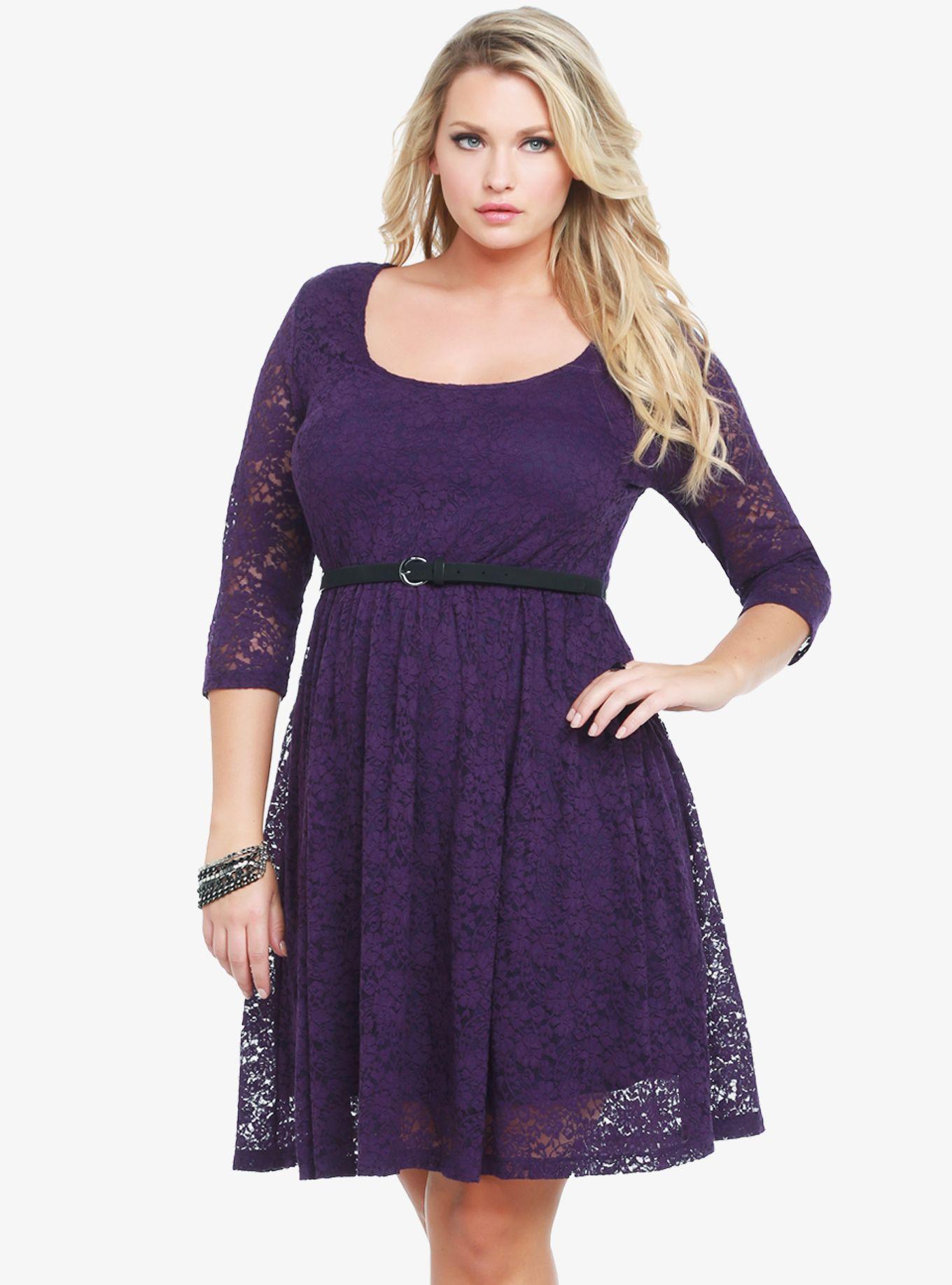Dress size 24 torrid dress 24 torrid black and white draped v neck - Lace Scoop Neck Belted Dress Torrid I Love This So
