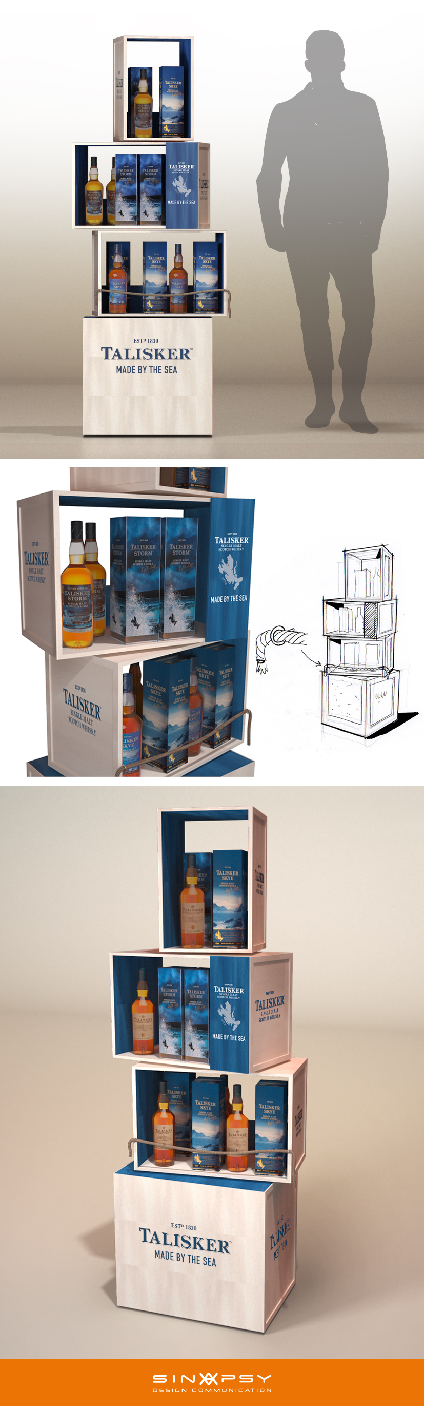 Talisker Pos Display project | ☆~POP Display 1~☆ | Pos ...