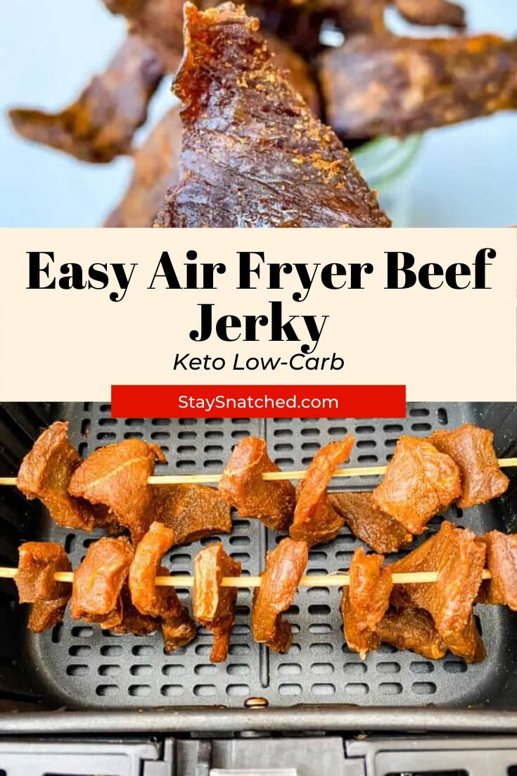 Easy Air Fryer Beef Jerky in 2020 Air fryer recipes easy