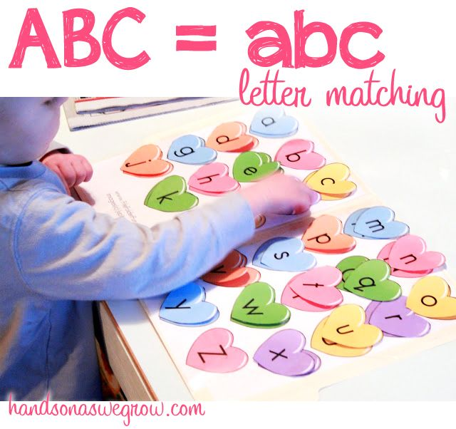 Matching upper and lowercase letters