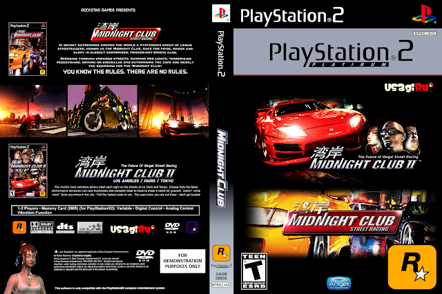 DOWNLOAD MIDNIGHT CLUB ISO PS2 [MIDNIGHT CLUB I & II]