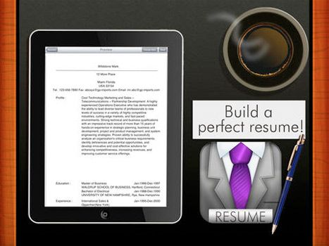 Best Resume Lite - iOS App by The App Guruz iOS Apps  Games