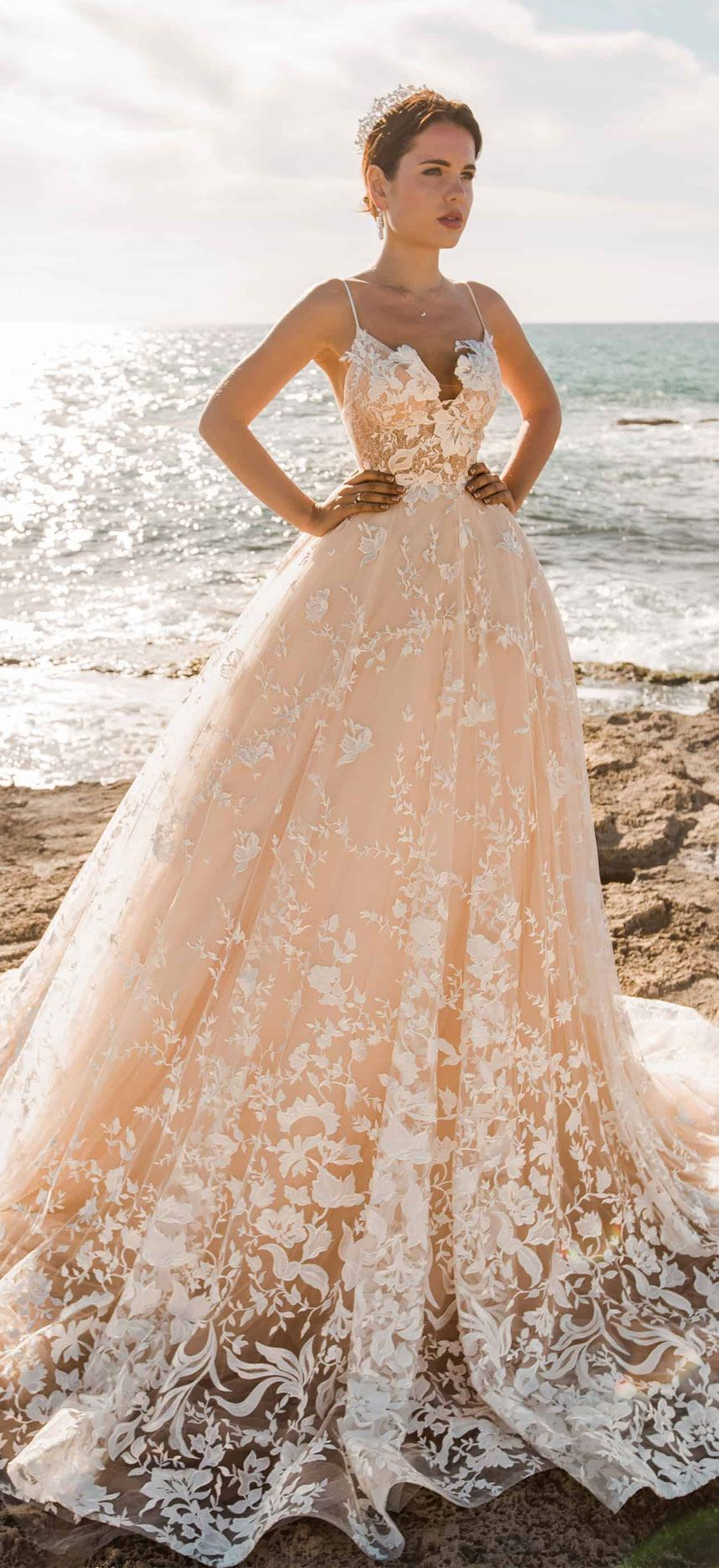 32 Beach Wedding Dresses Perfect For A Destination Wedding – Fab Wedding Dress…