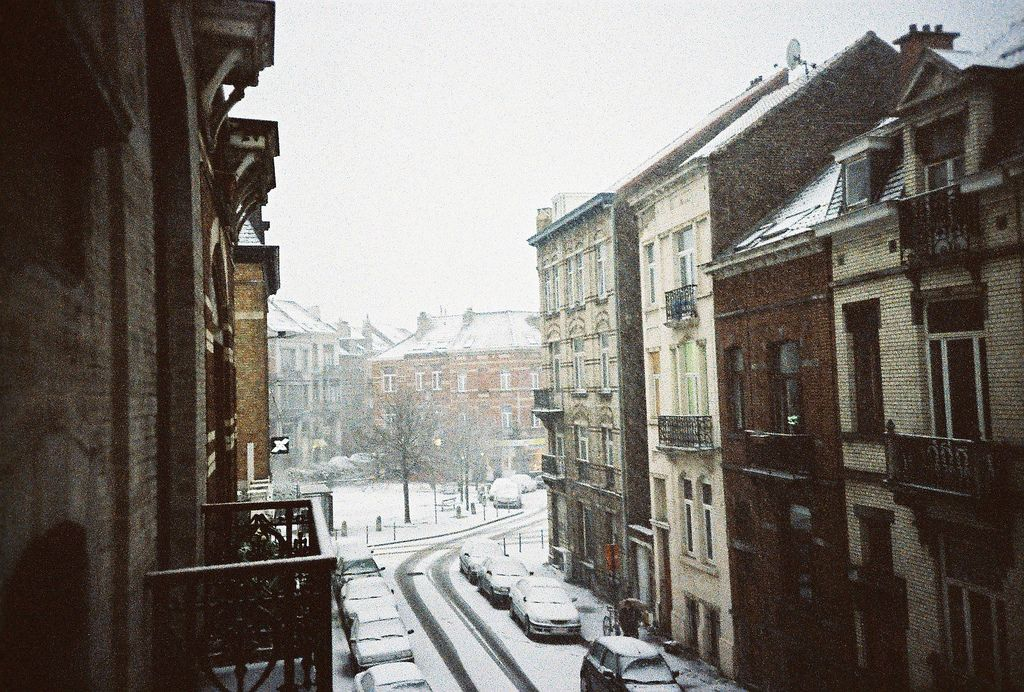 https://flic.kr/p/67nnYn | Senza titolo | Brussels, Belgium  (I hope no Belgians are confused by these photos.  It's probably not snowing now, these are old photos)
