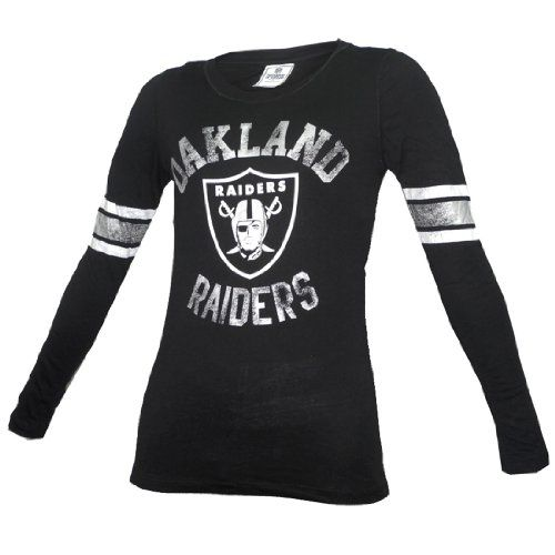 28.99 awesome NFL Oakland Raiders Womens Pink Victoria s Secret Slim Fit  Long Sleeve Shirt 1199994bd