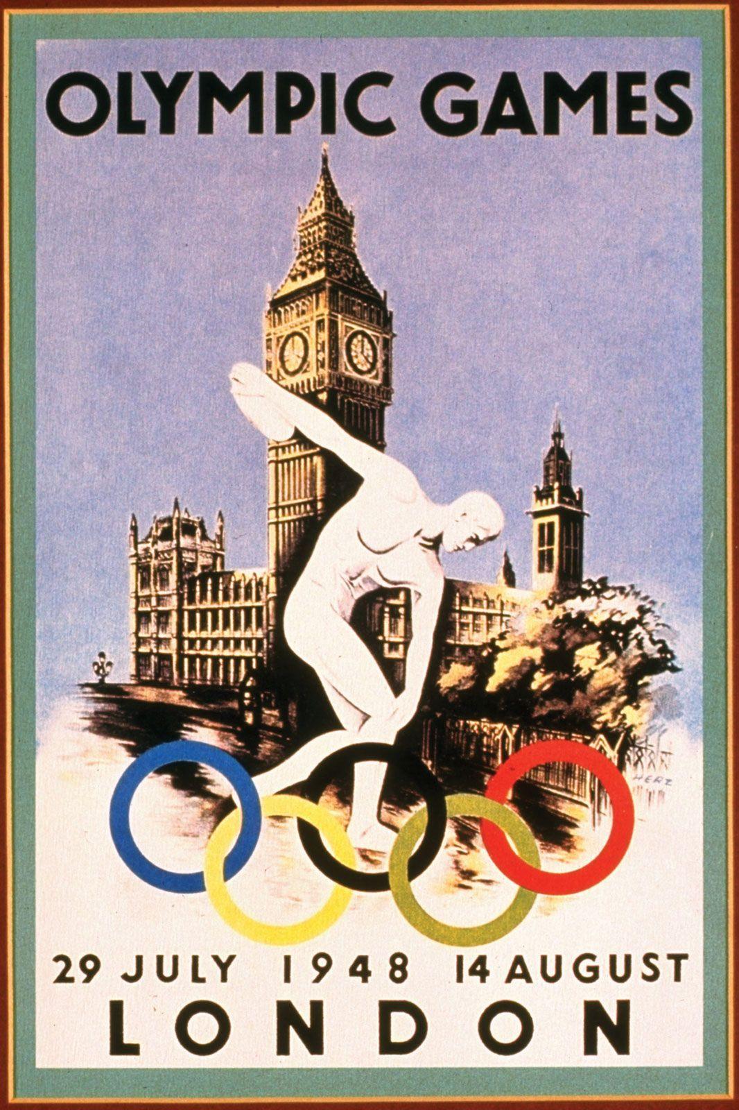 Germany Helsinki Olympics 1940 Repro POSTER