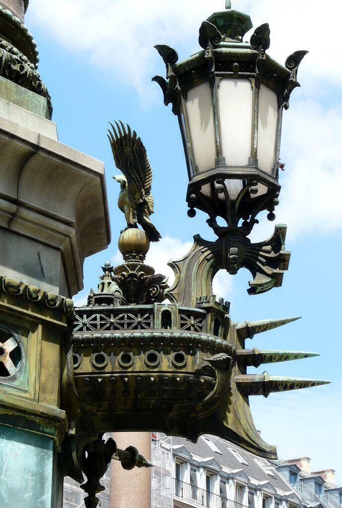 Pin By Andrasz Bacsi On Lanternes Gothique Etc Street Lamp Street Light Balcony Lighting