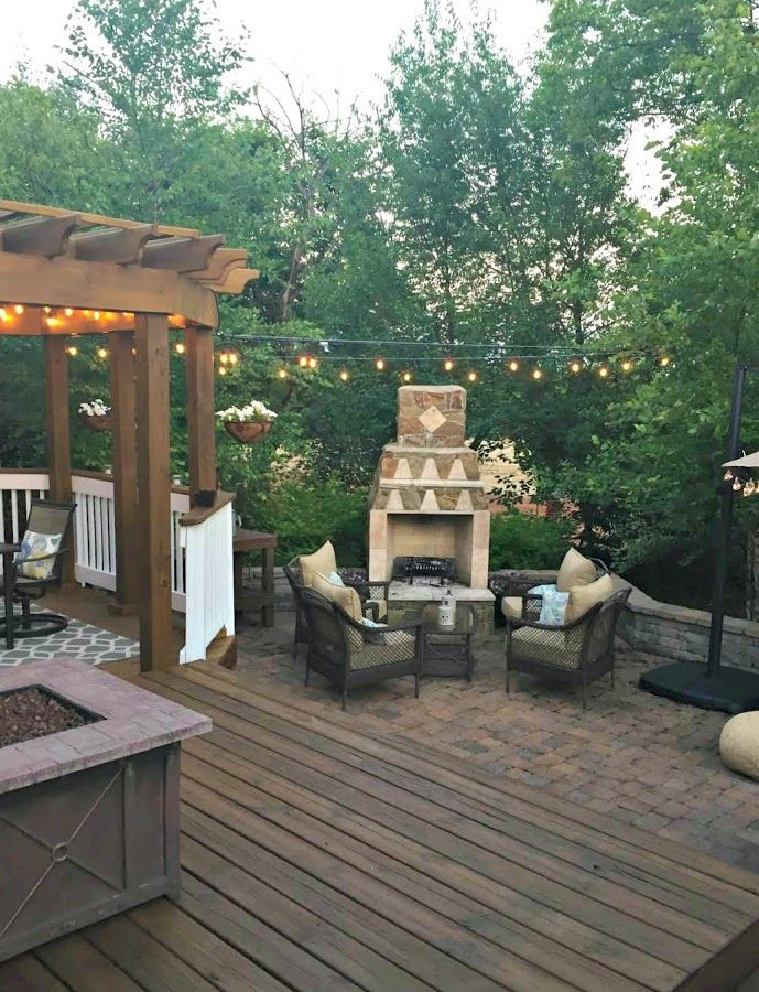 How To Hang Outdoor String Lights The Great Outdoor Living