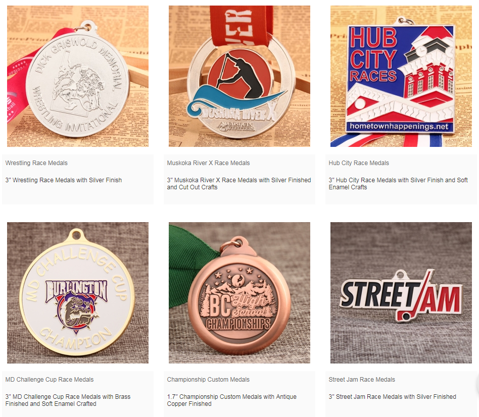 Today, we use race medals for a variety of activities