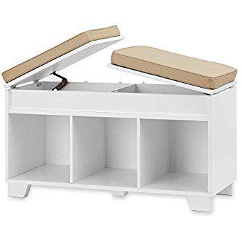 Exceptional Amazon.com: ClosetMaid 1569 Cubeicals 3 Cube Storage Bench, White: Home
