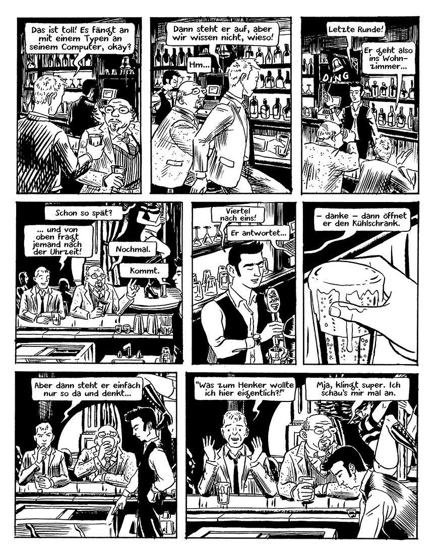 Stilübungen (69): In einer Bar überhört