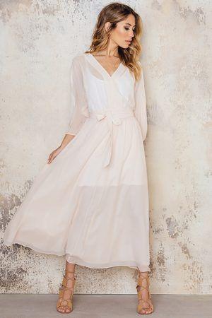 filippa k silk chiffon dress