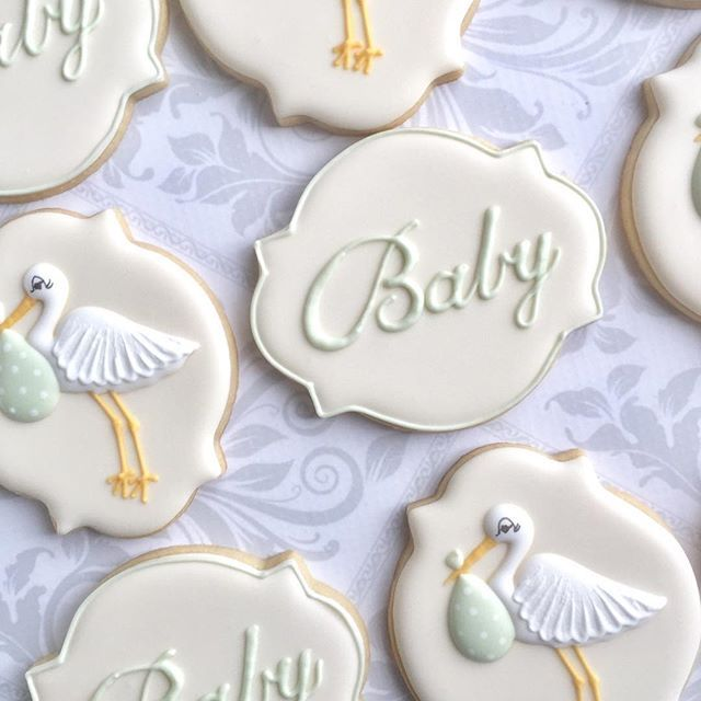 Loving The Green For Gender Neutral Baby Cookies Babycookies
