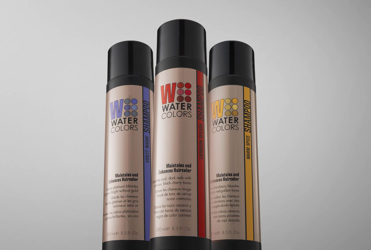 Rscreativeanddesign Three Shampoo Shades For The Extensive