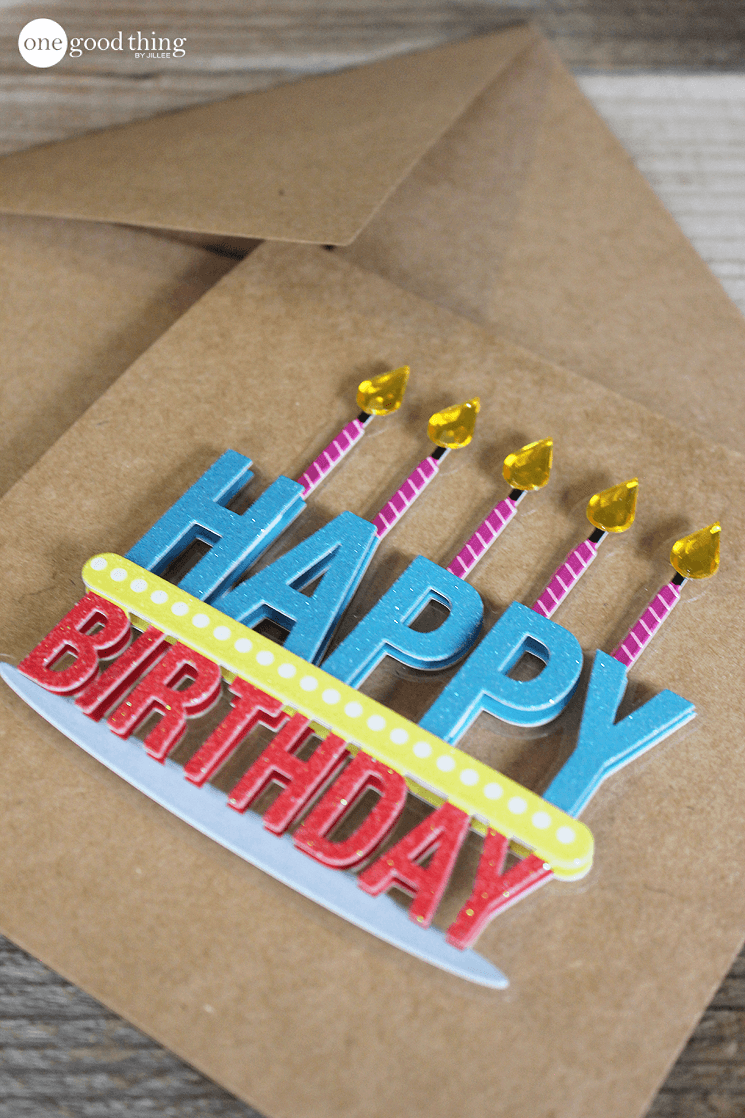 Make Your Own Greeting Cards In Less Than 30 Seconds Fun To Be One Card Craft Cards