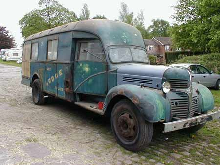 Trucks For Sale In Okc >> 1940s Dodge truck, VK model 3 ton ex-Royal Air Force RAF crewbus