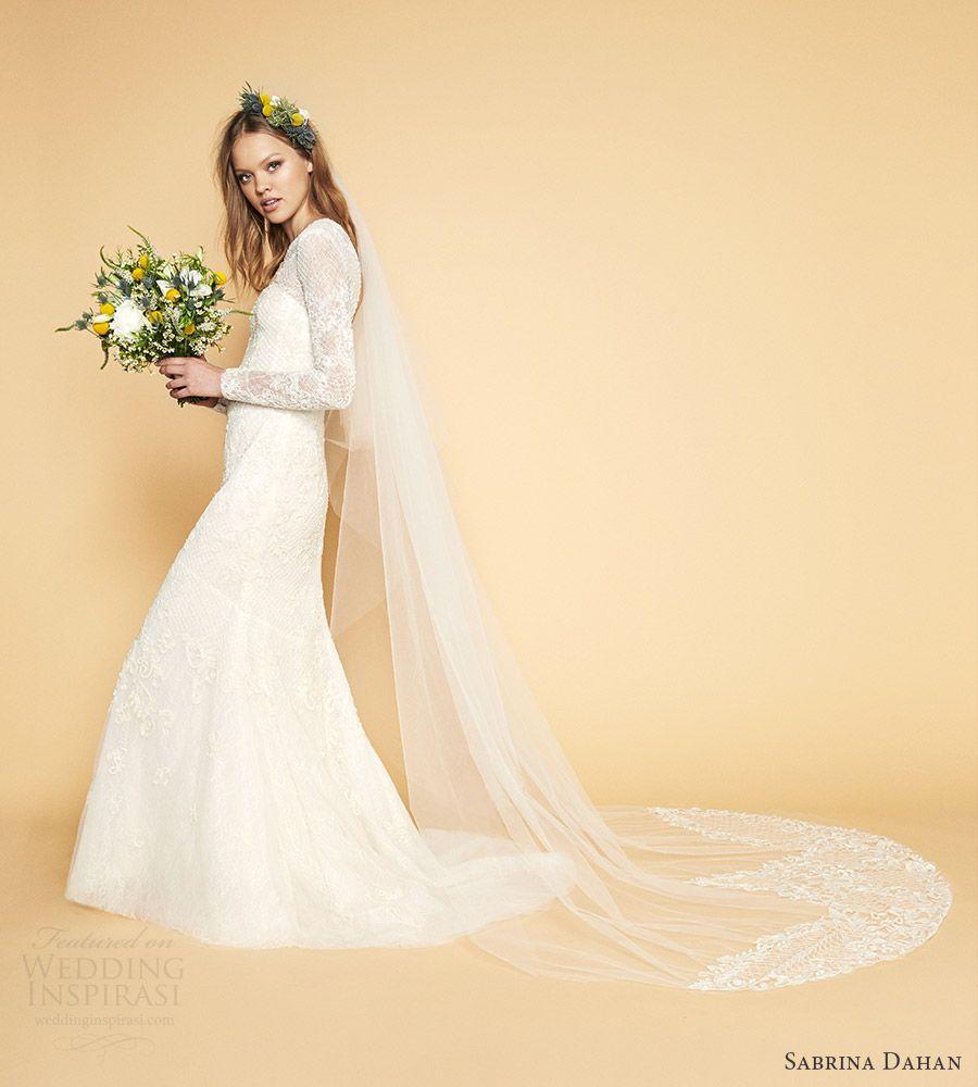 Sabrina dahan bridal spring wedding dresses pinterest lace