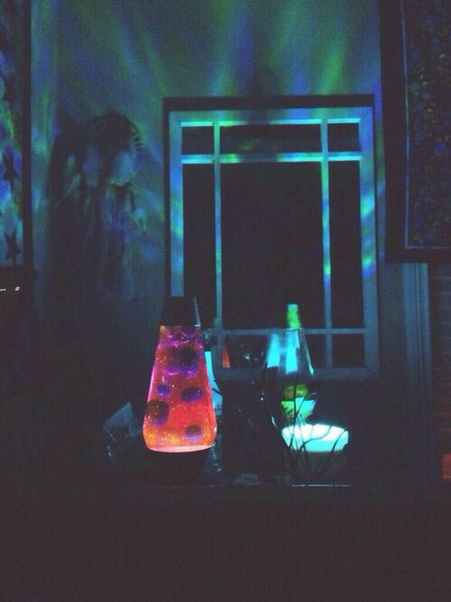 Lava Lamps Hippy Room Chill Room Apartment Room