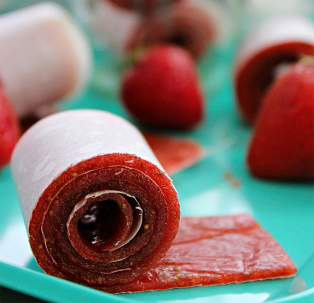 You only need 2 ingredients to make these roll-ups.