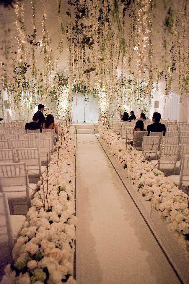 Christian wedding!beautiful #wedding #décor/ aisle / ceremony ...