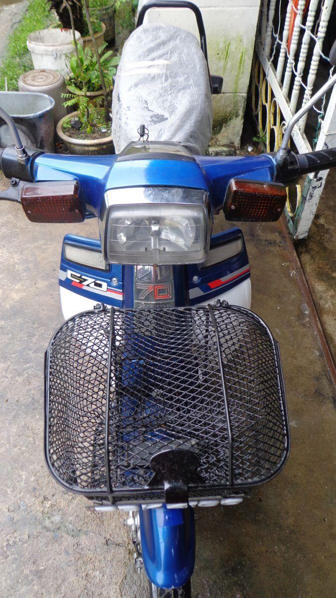 Honda C70 GBO J (Blue) | Preloved Motorcycles | Pinterest | Motorcycle,  Honda and Sell motorcycle