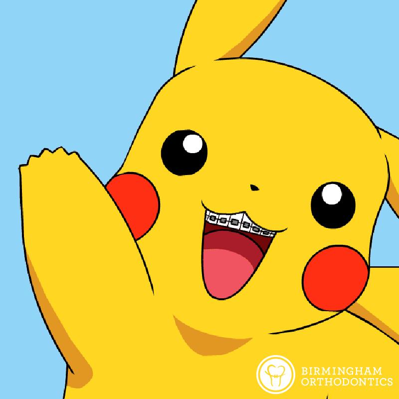 Pikachu With Braces Pokemon Go Brace Yourself Braces Dental