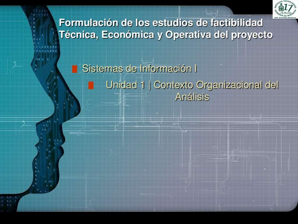 Factibilidad Tecnica, Operativa y Economica by HELOD DX via slideshare