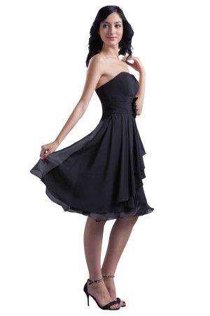 schön trägerlos kurz schwarz ballkleides beach kleid abendkleider  abendkleid kleider
