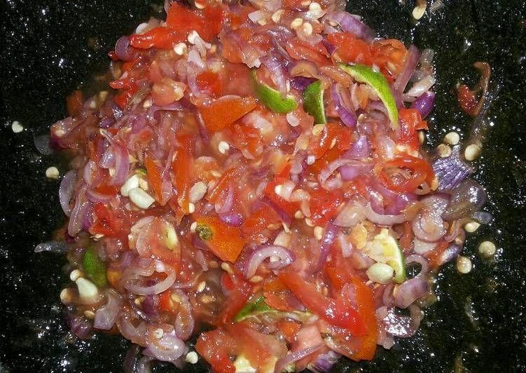 Resep Sambel Bawang Khas Daerahku Bima Ntb Oleh Khairunnisya Resep Makanan Pedas Resep Makanan Asia Resep Makanan Sehat