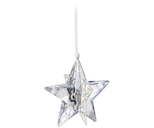 Christmas Ornament Star, Crystal Moonlight
