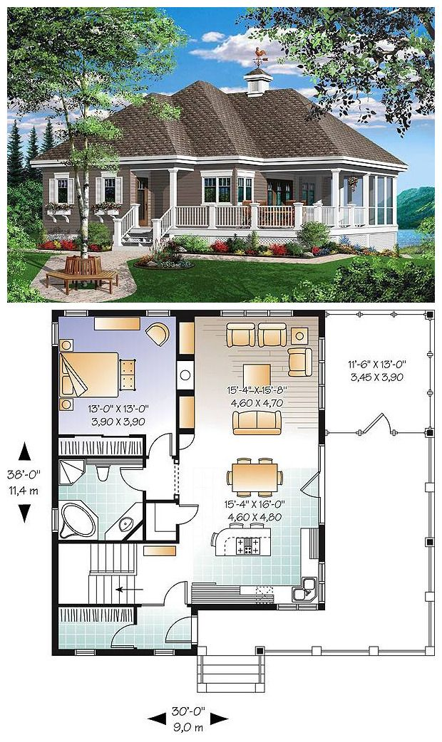 Beach Front Cottage Style House Plan 2022 The Gallagher Eco House Plans Cottage Style House Plans Dream House Plans