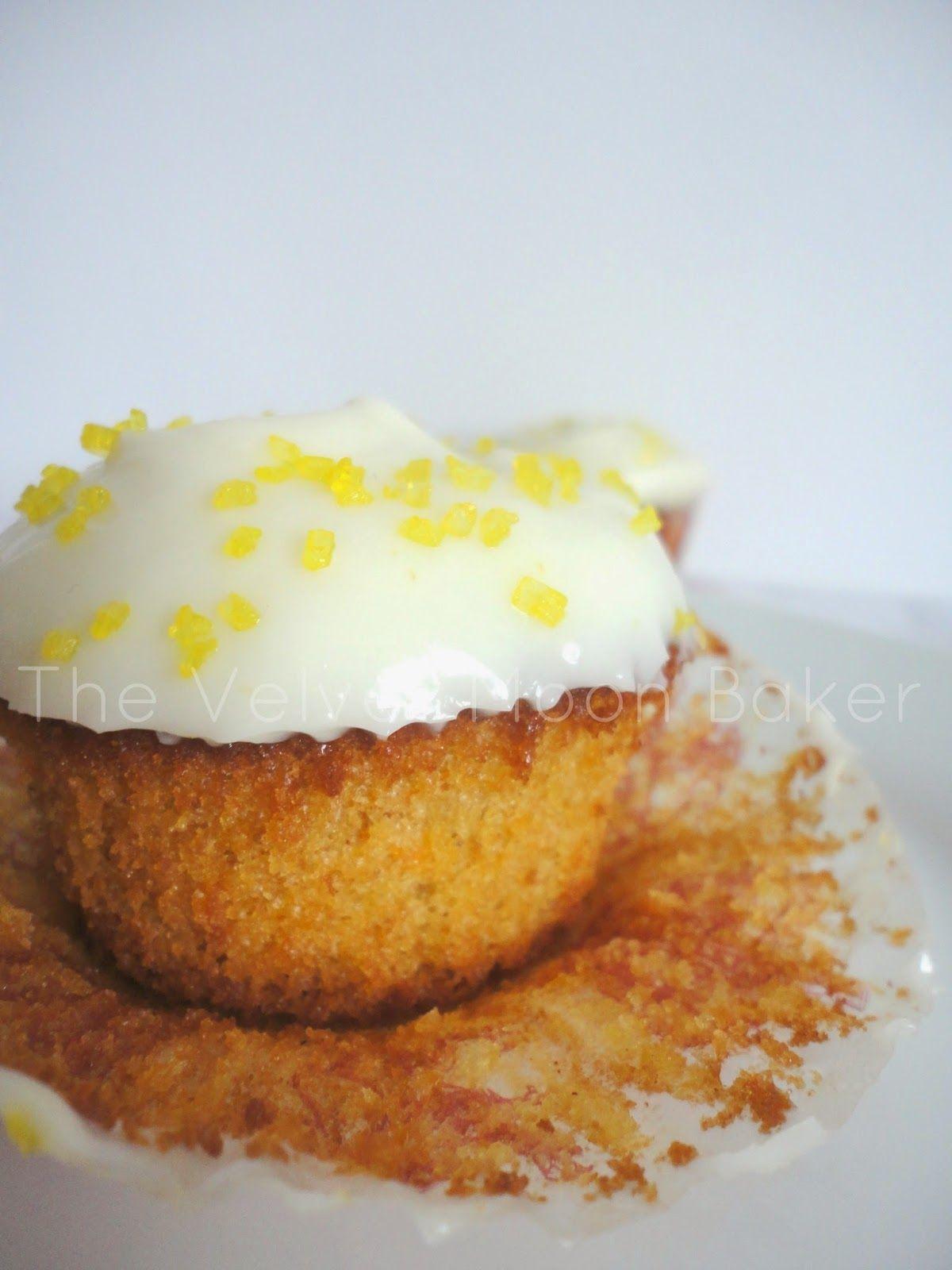 Carrot Cake Cupcakes with Orange Mascarpone Frosting