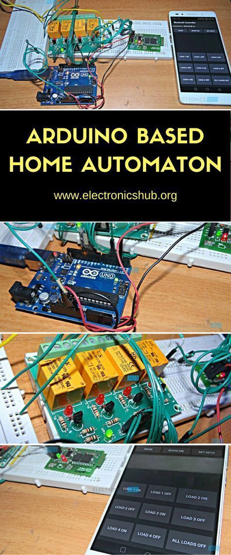 how to make arduino based home automation project