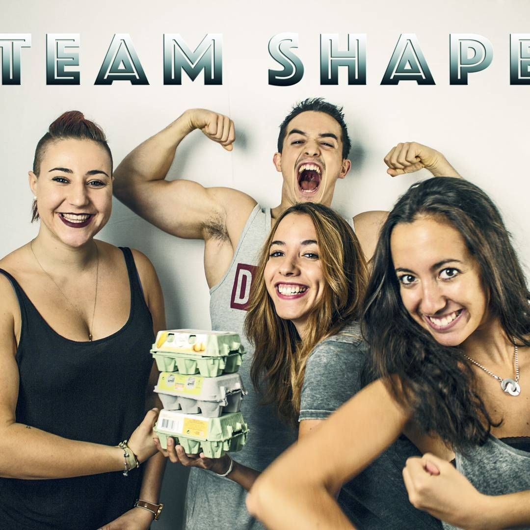 La Team Shape !!  #TeamShape #TiboInshape #EatSleepTrainPetites #Strong #Protein #Friends