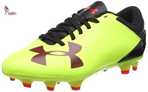 Under Armour Ua B Spotlight Dl Fg Jr, Chaussures de Football Garçon, Jaune (
