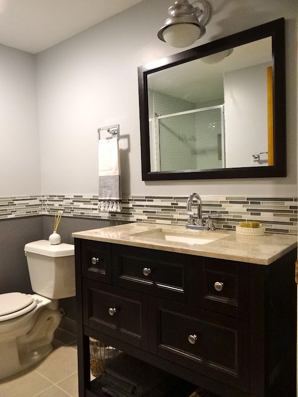 DIY Fanatics Renovate Remodel And Design Their Home One Project - Time to renovate bathroom