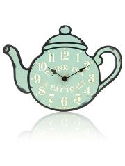 Jones Tea Clock - Green | Clock, Green clocks, Home ...
