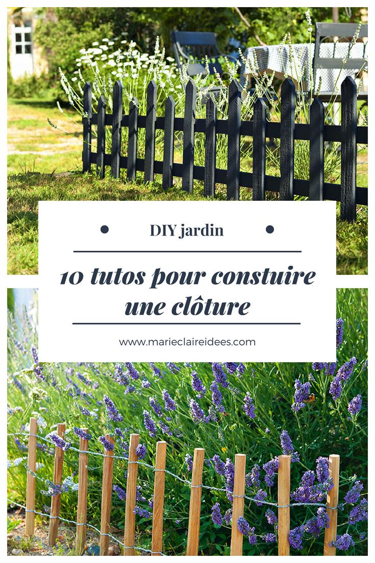 Faire Sa Peinture Extérieure Soi Même 10 idées pour fabriquer soi même une clôture de jardin