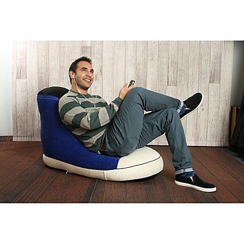 Cool Wow Works Hi Top Sneaker Adult Size Beanbag Worst Wow Machost Co Dining Chair Design Ideas Machostcouk