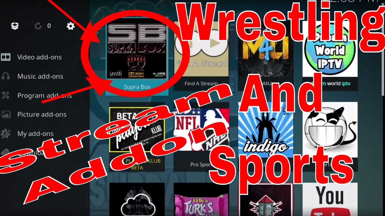 Kodi Awesome Addon for Wrestling Fans and Great Sports