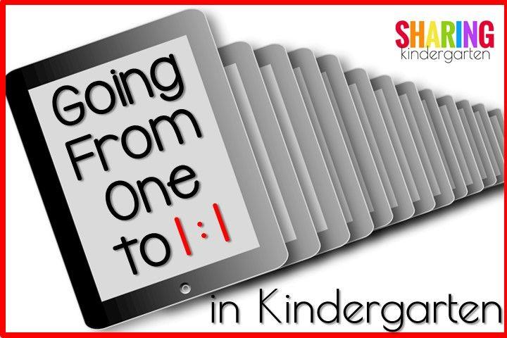 Going From One to 1:1 in Kindergarten: Part 1 - Sharing Kindergarten