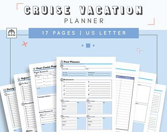 Cruise Itinerary Template | Letter Cruise Planner Travel Agenda Cruise Itinerary Template