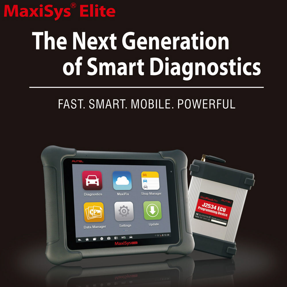 Autel Maxisys Elite (Upgraded Version of MS908P Pro) 2 Years
