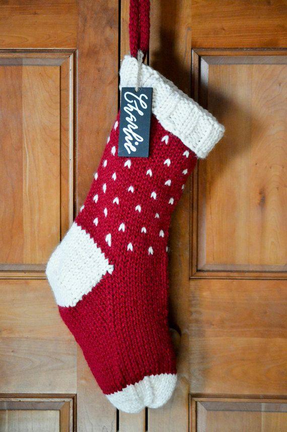 Personalized Fair Isle Knit Christmas by TheHaberdasheryShop ...